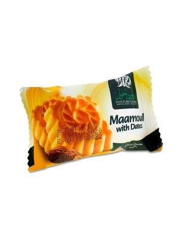 Maamoul DAOUD BROTHERS dadels (per 24 à 21gr) 504gr x 12st