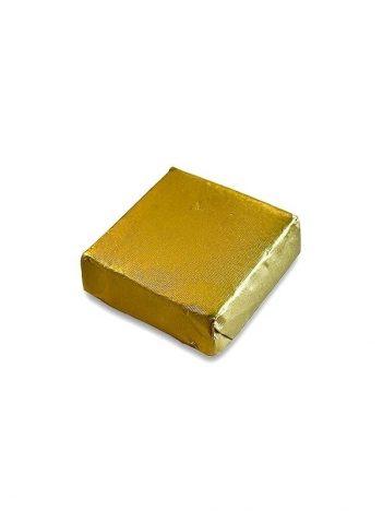 1032D Chocolade Vierkant Praline Koffie Goud 5KG