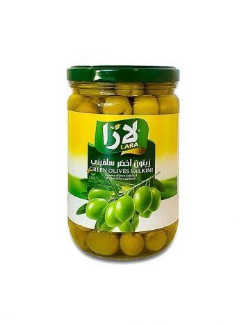 Groene olijven LARA LB Salkini Klein 400gr x 12st