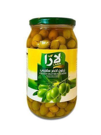 Groene olijven LARA LB Salkini Middel 650gr x 12st