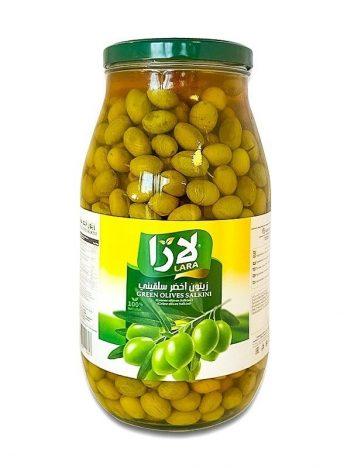 Groene olijven LARA LB Salkini Groot 1850gr x 4st