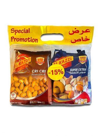 PROMO Super extra + Coated Peanuts Cri Cri AL KAZZI 600gr x 6st