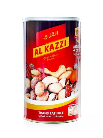 Kernels + Coated Peanuts Mixed AL KAZZI Rood 450gr (pot) x 12st