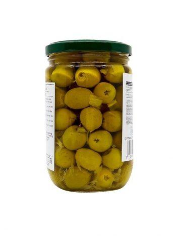 Groene olijven LARA LB gevuld met citroen 375g x 12st