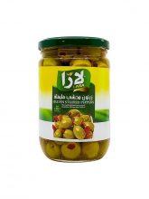 Groene olijven LARA LB gevuld met paprika 375g x 12st