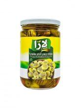 Groene olijven salade gegrild LARA LB met olie 600g x 12st