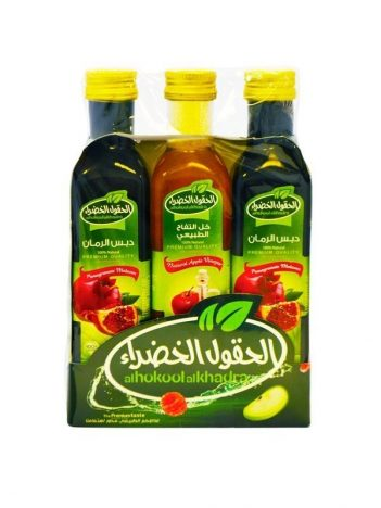 Special *Offer* Al HOKOOL AL KHADRAA (2x Granaatappelsaus/1x appelazijn) x 8st