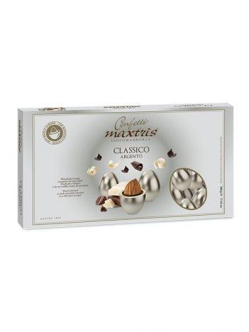 Mulabas CONFETTI luxury almond zilver 500g x 20 st