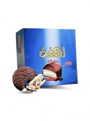 Koek LAHFA gevuld met marshmallow vanille (25gx24) x 6st