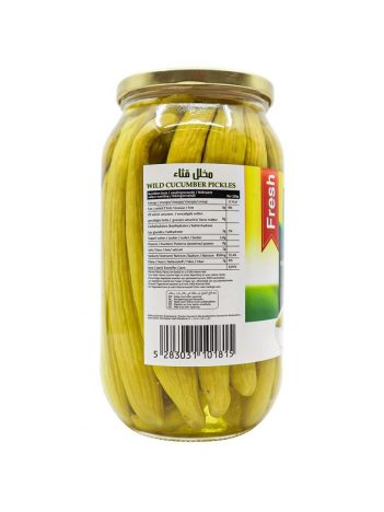 Augurken LARA LB Wilde komkommer Middel FRESH 650 gr x 12 st