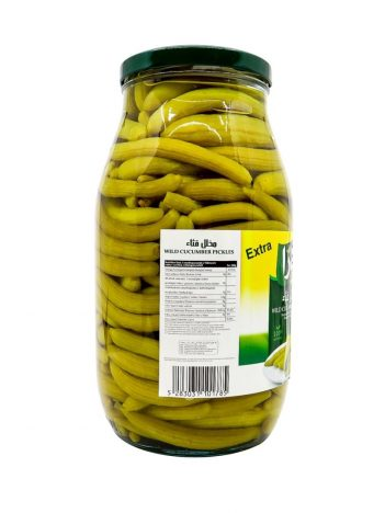 Augurken LARA LB Wilde Komkommer Groot EXTRA 1,8kg x 4 st