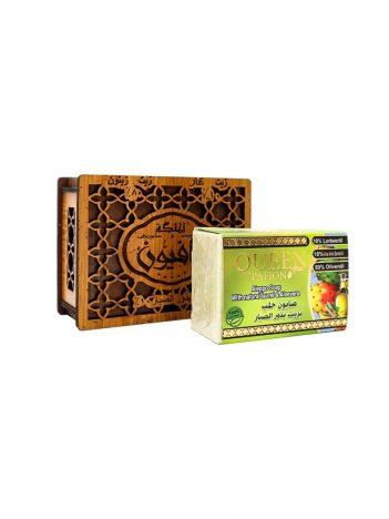 Zeep AL MALIKA Aloë Vera-zaadolie houten doos 150g x 24 st