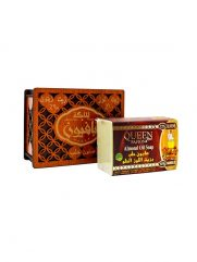 Zeep AL MALIKA Amandel olie houten doos 150g x 24 st