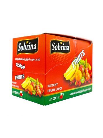 Sap poeder SOBRINA Fruit (12x1L) x 6 st