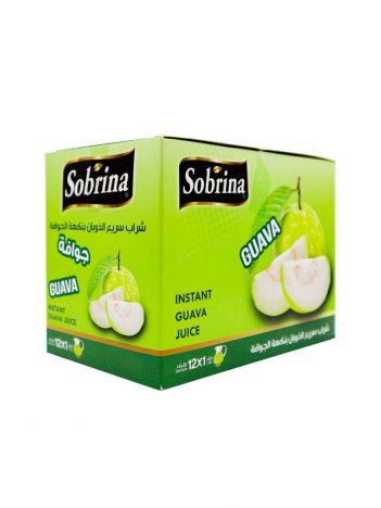 Sap poeder SOBRINA Guava (12x1L) x 6 st