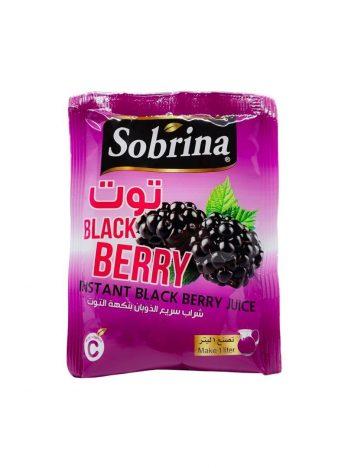 Sap poeder SOBRINA Blackberry (12x1L) x 6st