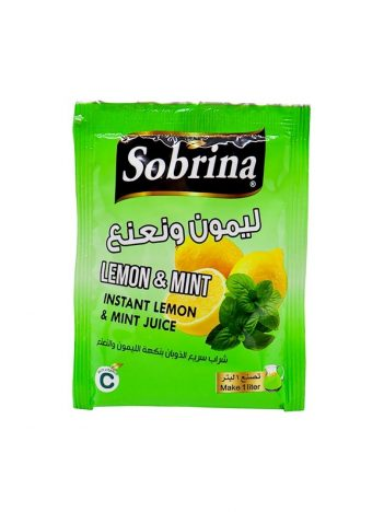 Sap poeder SOBRINA Citroen&Mint (12x1L) x 6 st