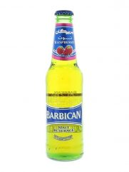 Malt bier BARBICAN Framboos (Alcohol vrij) 24st x 330ml
