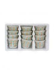 H2-15 Coffeecups Arabica with print set of 12 st